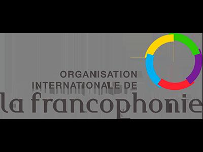 Logótipo Organização Internacional de Francofonia